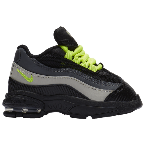 89b32bc04d ... 50% off nike air max 95 boys toddler casual shoes black volt dark grey  light