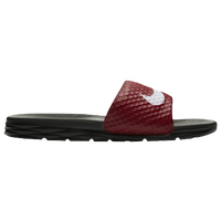 Nike Benassi Solarsoft Slide 2 - Men's - Red / White
