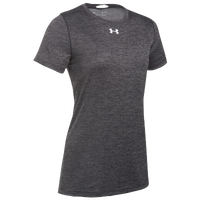 Under Armour Team Locker S/S T-Shirt - Women's - Grey / Silver