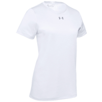 Under Armour Team Locker S/S T-Shirt - Women's - White / Silver