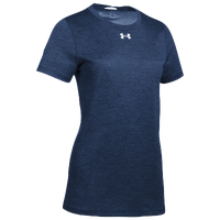 Under Armour Team Locker S/S T-Shirt - Women's - Navy / Silver