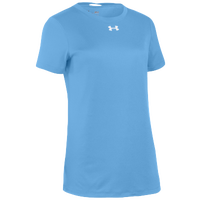 Under Armour Team Locker S/S T-Shirt - Women's - Light Blue / Silver