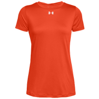 Under Armour Team Locker S/S T-Shirt - Women's - Orange / Silver