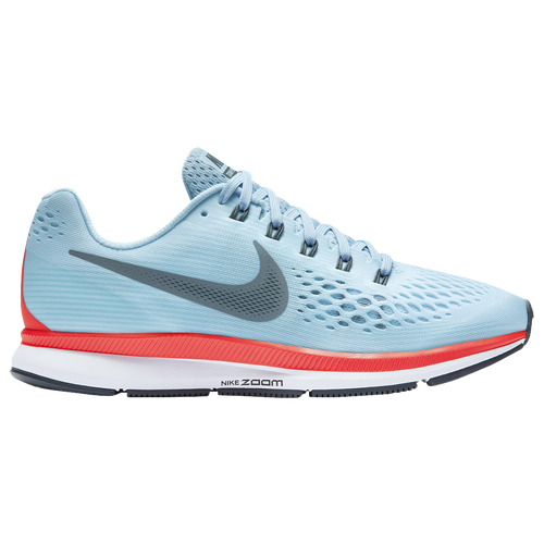 The Most Popular Nike Air Zoom Pegasus 34 Ice Blue/Blue Fox/Bright Crimson/White For Men Outlet