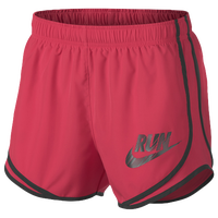 "Nike Dri-FIT 3.5"" Tempo Shorts - Women's - Red / Black"