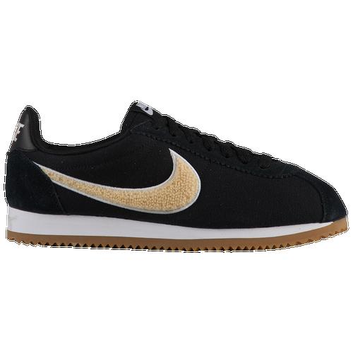 arrives cb6ad c509e ... Nike Classic Cortez Premium - Women s - Casual - Shoes - Black Light  Cream Gum ...