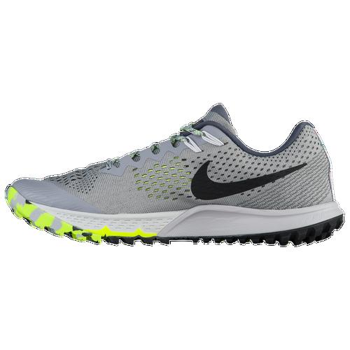 Nike Zoom Terra Kiger 4 - Men's - Running - Shoes - Stealth/Black/Dark Grey /Volt