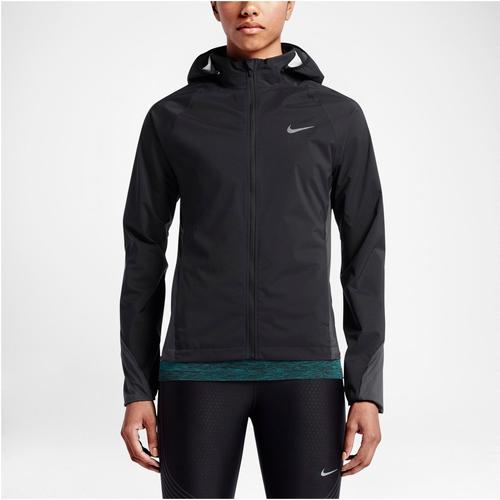 Nike womens dri-fit jacket black