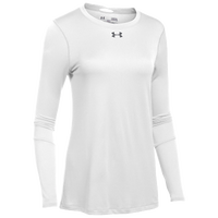 Under Armour Team Locker L/S T-Shirt - Women's - White / Grey