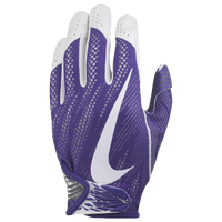 Nike Vapor Knit 2 Football Gloves - Men's - Purple / White