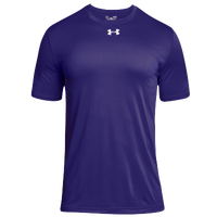 Under Armour Team Locker 2.0 S/S T-Shirt - Men's - Purple / White