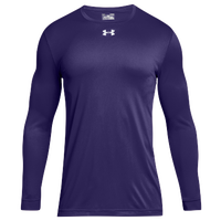 Under Armour Team Locker 2.0 L/S T-Shirt - Men's - Purple / White