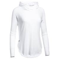 Under Armour Team Stadium Hoodie - Women's - White / Grey