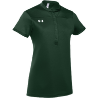 Under Armour Team Drape Tee - Women's - Dark Green / White