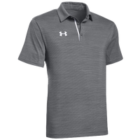 Under Armour Team Elevated Polo - Men's - Grey / White