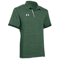 Under Armour Team Elevated Polo - Men's - Green / White