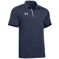 Under Armour Team Elevated Polo - Men's - Navy / White
