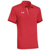 Under Armour Team Elevated Polo - Men's - Red / White