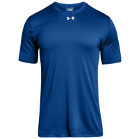 Under Armour Team Locker 2.0 S/S T-Shirt - Boys' Grade School - Blue / Silver