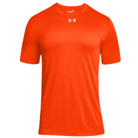 Under Armour Team Locker 2.0 S/S T-Shirt - Boys' Grade School - Orange / Silver