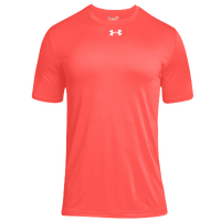 Under Armour Team Locker 2.0 S/S T-Shirt - Boys' Grade School - Pink / Silver