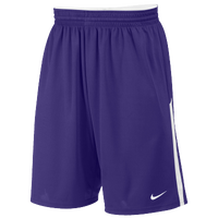 Nike Team Face-Off Game Shorts - Men's - Purple / White