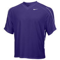 Nike Team Face-Off Game Jersey - Men's - Purple / White