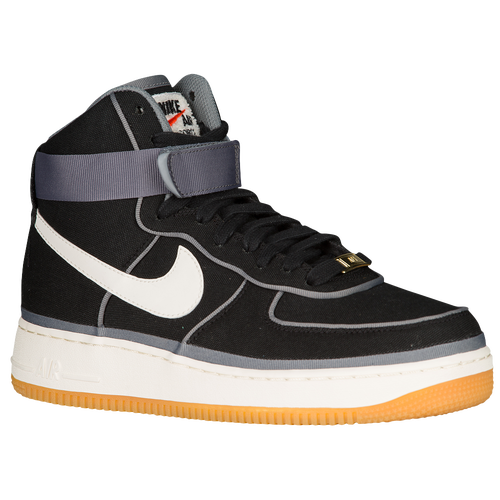quality design dfd79 e0beb Nike Air Force 1 High LV8 Mens Basketball Shoes Black Sail Team Orange Gum  Light Brown