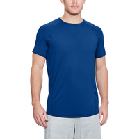Under Armour MK1 Fitted Short Sleeve Tee - Men's - Blue / Grey