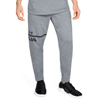 Under Armour MK1 Lightweight Tapered Pants - Men's - Grey / Black