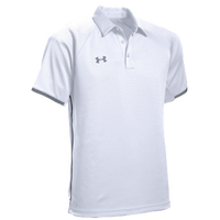 Under Armour Team Rival Polo - Men's - White / Grey