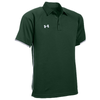 Under Armour Team Rival Polo - Men's - Dark Green / White