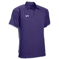 Under Armour Team Rival Polo - Men's - Purple / White