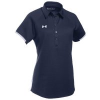 Under Armour Team Rival Polo - Women's - Navy / White