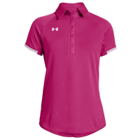 Under Armour Team Rival Polo - Women's - Pink