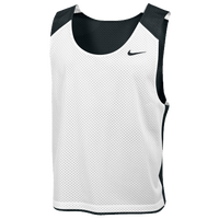 Nike Team Reversible Lacrosse Mesh Tank - Men's - Black / White