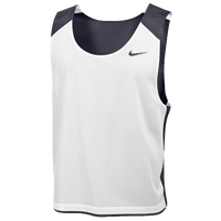 Nike Team Reversible Lacrosse Mesh Tank - Men's - Grey / White