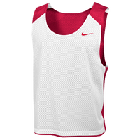 Nike Team Reversible Lacrosse Mesh Tank - Men's - Red / White