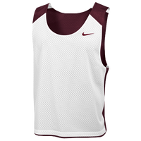 Nike Team Reversible Lacrosse Mesh Tank - Men's - Maroon / White