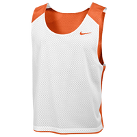 Nike Team Reversible Lacrosse Mesh Tank - Men's - Orange / White