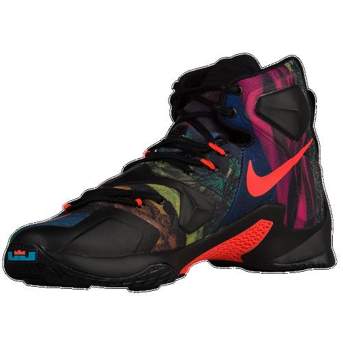 5739caa1c5a78 Nike LeBron XIII Mens Basketball Shoes LeBron James  Alligator Black Multicolor