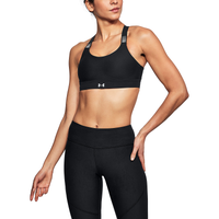 Under Armour Balance High Support Bra - Women's - Black / White