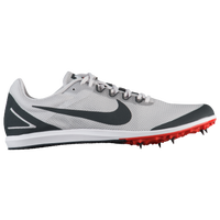 Nike Zoom Rival D 10 - Men's - Grey / Grey