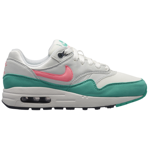 pretty nice 1a2b5 21ced ... official store nike air max 1 boys grade school casual shoes summit  white sunset pulse kinetic