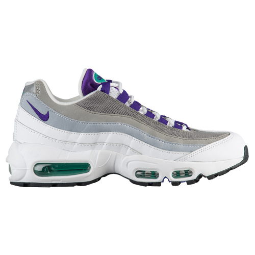 sale retailer 16f9d 82003 ... switzerland nike air max 95 womens casual shoes white court purple  emerald green lt charcoal black