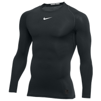 Nike Pro Long Sleeve Compression Top - Men's - Black