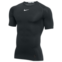 Nike Pro Short Sleeve Compression Top - Men's - Black