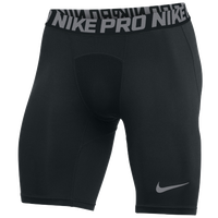 Nike Team Pro Shorts - Men's - Black / Grey