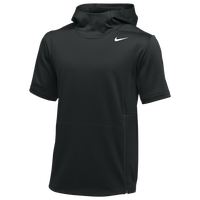 Nike Team Authentic Therma S/S Top - Men's - Black / Black