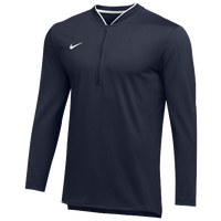 Nike Team Authentic 1/2 Zip Coaches Top - Men's - Navy / White